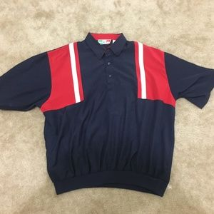 Vintage Alan Stuart Collection Banded Polo Shirt